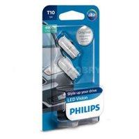 Светодиодная автолампа PHILIPS W5W LED LP 4500K (12791B2)