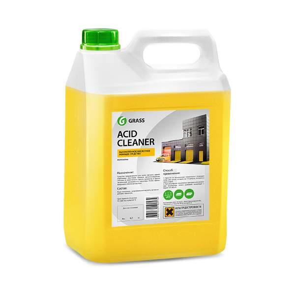Acid bathroom cleaner