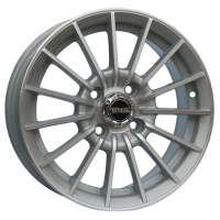 Tech Line 406 5.5x14/4x100 ET35 D67.1 Silver