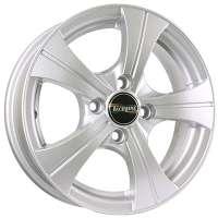 Tech Line 410 5.5x14/4x100 ET43 D67.1 Silver