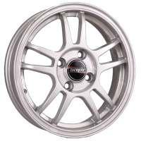 Tech Line 417 5.5x14/4x100 ET43 D60.1 Silver