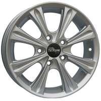 Tech Line 523 6x15/4x100 ET50 D60.1 Silver