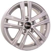 Tech Line 545 6x15/5x105 ET39 D56.6 Silver