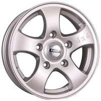 Tech Line Neo 541 6.5x15/5x139.7 ET40 D98 Silver