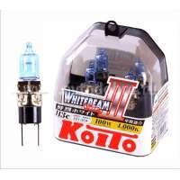 Галогеновая автолампа KOITO H3c WhiteBeam III, 4000K, 55W (P0753W)