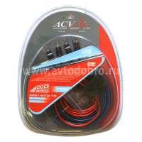 Комплект для подключения 2-х канального усил-ля 10AWG ECO (ACV KP21-KIT2-10)