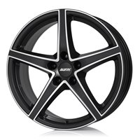 Alutec Raptr 8x18/5x120 ET34 D72.6 Racing black front polished