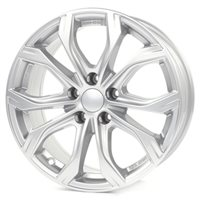 Alutec W10 8x18/5x112 ET47 D66,5 Polar Silver