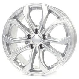 Alutec W10 8x18/5x120 ET40 D72.6 Polar Silver