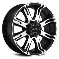 American Racing AR708 9,5x22 / 8x165 ET0 DIA125 Black/Machined