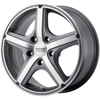 American Racing AR883 8x18/5x114.3 ET40 D72.62 Anthracite/Machined