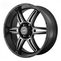American Racing AR890 9,5x22 / 6x135 ET35 DIA87 Black/Machined