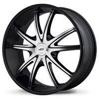 American Racing AR897 9x22/5x114.3 ET38 D72.62 Black/Machined