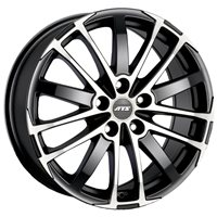 ATS X-Treme 8x18/5x112 ET35 D70.1 Racing black front polished