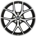 BBS SR 7.5x17/5x114.3 ET42 D82 Vulcano grey diamond cut