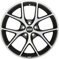 BBS SR 8x18/5x100 ET48 D70 Vulcano grey diamond cut