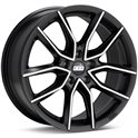 BBS XA 8.5x20/5x120 ET33 D82 Black + Diamond Cut