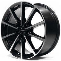 Borbet BL5 7x16 / 5x112 ET37 DIA72,5 Black polished