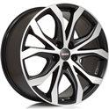 Alutec W10 9x20/5x112 ET52 D66.5 Racing black front polished