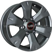 LegeArtis Optima TY190 7.5x17/6x139.7 ET25 D106.1 GM