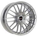 Borbet CW4/5 8x18/5x114.3 ET40 D72.5 Sterling Silver