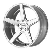 KMC KM685 8.5x20/5x120 ET28 D72.62 Silver/Machined