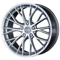 MAK Munchen 7x16/5x120 ET40 D72.6 Silver