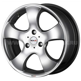 MAK STR Fighter 5.5x15/3x112 ET28 D57.1 Hyper Silver