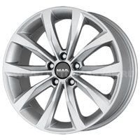 MAK Wolf 6.5x16/5x114.3 ET50 D66.1 Silver