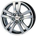 Rial Como 8x18/5x114.3 ET45 D70.1 Sterling Silver