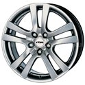 Rial Como 7x17/4x100 ET40 D63.3 Sterling Silver