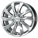 Rial Lugano 6.5x16/4x100 ET40 D63.35 Sterling Silver