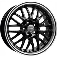 Rial Norano 8.5x18/5x120 ET32 D72.6 Diamant black lip polished