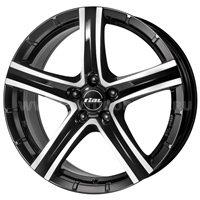 Rial Quinto 8x18/5x114.3 ET35 D70.1 Diamant black front polished