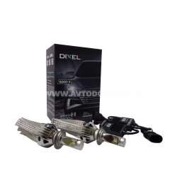 Комплект светодиодных ламп DIXEL G6 H7 - 5000 K.