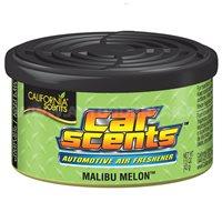 Ароматизатор воздуха на панель приборов CALIFORNIA Car Scents, банка Malibu Melon