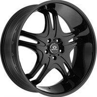 Lorenzo WL31 8.5x22/5x114.3 ET38 D72.62 Black