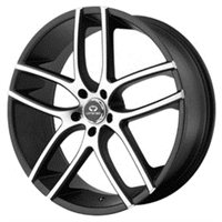 Lorenzo WL35 8.5x20/5x114.3 ET38 D72.62 Black/Machined