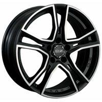 OZ Adrenalina 8x17/5x114.3 ET40 D75 Matt Black + Diamond Cut