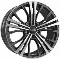 OZ Cortina 9.5x20/5x112 ET40 D79 Matt Dark Graphite