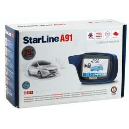 Сигнализация с автозапуском StarLine A91