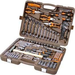 Набор инструментов универсальный 131 предмет Ombra OMT131S