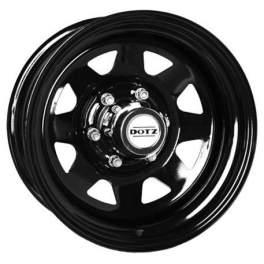 Dotz Dakar 7x16/5x165 ET8 D122.5 dark