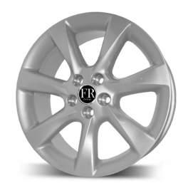 FR replica LX418 7.5x18/5x114.3 ET35 D60.1 Silver