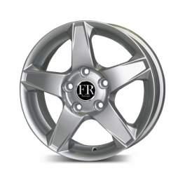 FR replica H755 6x15/4x100 ET53 D56.1 Silver
