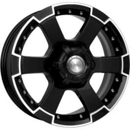 K&K М56 7x16/6x139.7 ET38 D108.1 Алмаз черный