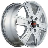 LegeArtis Optima VW74 6.5x16/6x130 ET62 D84.1 Sil
