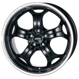 Alutec Boost 10.5x20/5x112 ET55 D66.6 Diamant black with stainless steel lip