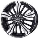 Alutec Ecstasy 8x18/5x112 ET50 D70.1 Diamant Black Polished