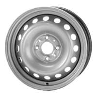 TREBL 53A45V 5,5x14 / 4x100 ET45 DIA 56,1 Silver